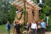Bau des Baumhauses
